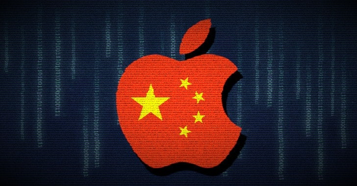 Apple Transfers Chinese Users' iCloud Data to State-Controlled Data Centres