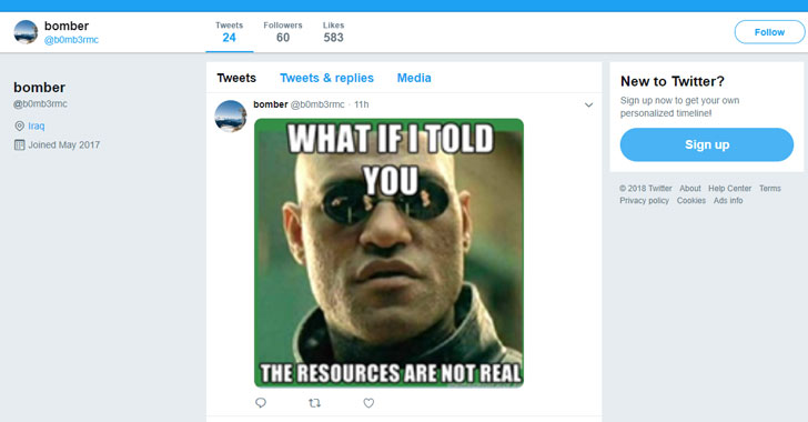 New Malware Takes Commands From Memes Posted On Twitter