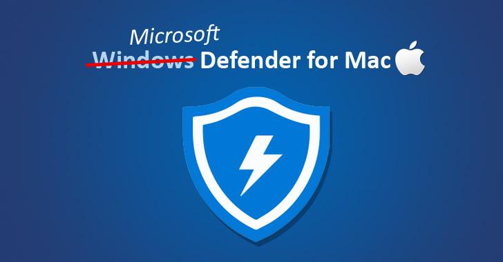 Microsoft Announces Windows Defender ATP Antivirus for Mac