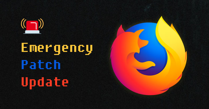 Firefox Releases Critical Patch Update to Stop Ongoing Zero-Day Attacks