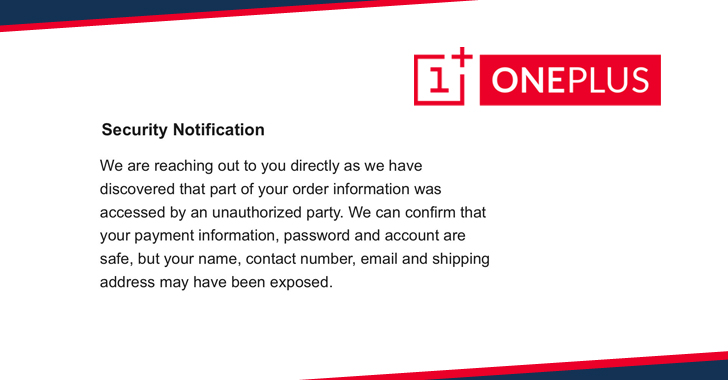 OnePlus Suffers New Data Breach Impacting Its Online Store Customers