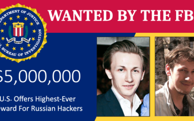 FBI Puts $5 Million Bounty On Russian Hackers Behind Dridex Banking Malware