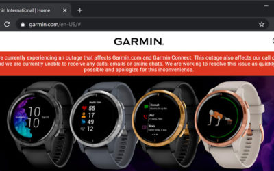 Smartwatch Maker Garmin Shuts Down Services After Ransomware Attack