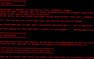 Black Kingdom Ransomware Hunting Unpatched Microsoft Exchange Servers